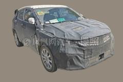 吉利SX11插电混动车曝光 明年3季度上市
