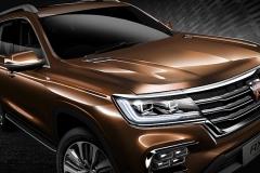 """上汽荣威首款大型SUV命名""""荣威RX8"""""""