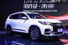 奇瑞全新SUV 瑞虎8正式亮相 北京车展上市