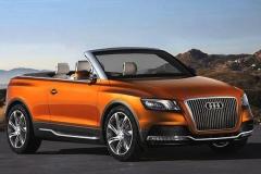奥迪申请敞篷SUV专利 第一款新车将是它