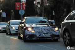 新款奔驰C63 AMG谍照 动力提升明显