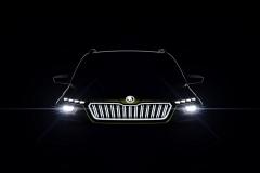 斯柯达VISION X概念车 双燃料混合动力SUV