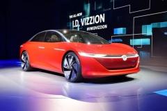 2018日内瓦车展:大众I.D. Vizzion概念车
