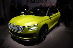 2018日内瓦车展:斯柯达Vision X概念车发布