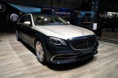 2018日内瓦车展:迈巴赫S级正式亮相