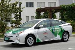 丰田发布复合燃料混动实验车 使用汽油+乙醇