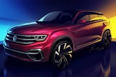 大众将推5座版途昂 纽约车展发布概念版
