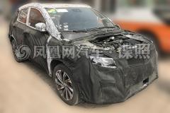 吉利SX11量产版路试实车首曝 预计今年秋季上市