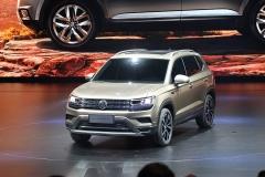 上汽大众全新SUV发布 与柯珞克同平台