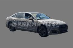 新一代奥迪A6L实车首曝 预计2019年投产
