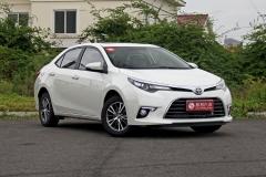 丰田雷凌新增CVT豪华版 安全配置提升