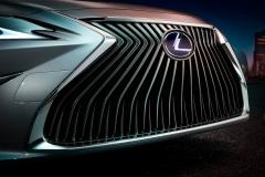 雷克萨斯全新ES预告图 北京车展首发