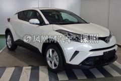 曝广汽丰田C-HR申报图 年轻态爆款SUV