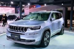 北京车展探馆:Jeep大指挥官混动版超省油