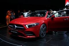 奔驰长轴距A级轿车全球首发 豪华入门车的弄潮儿