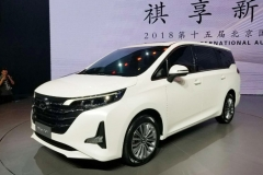 2018北京车展:传祺GM6车型首发 7座布局