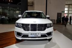2018北京车展:华泰圣达菲7 EV520发布