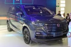 2018北京车展:汉腾旗下首款MPV亮相