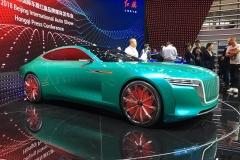 2018北京车展:红旗E·境GT概念车发布