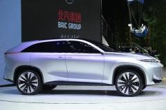 """九款重磅车型如约而至 北京汽车大秀新""""昇""""态"""