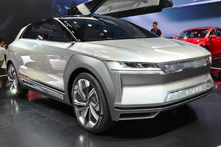 电动车平台EV什么样 比亚迪E-SEED现身说法