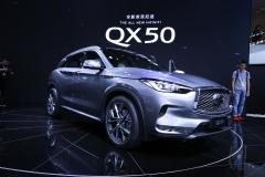 英菲尼迪QX50公布预售价 6款车型/35-51万
