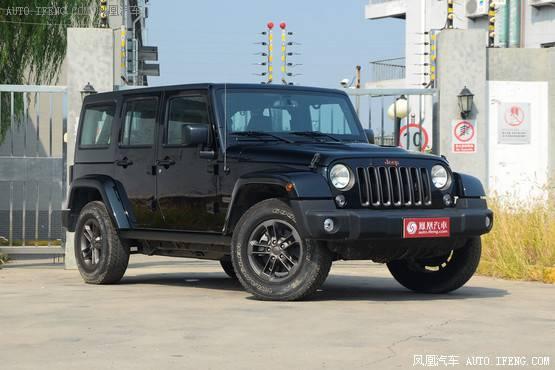 Jeep牧马人南宁直降4.25万元 少量现车