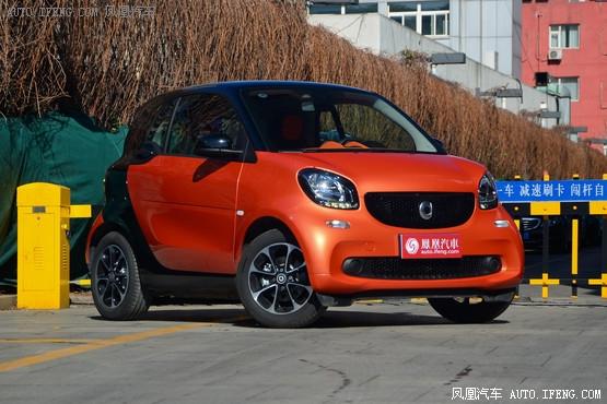 奔驰smart南宁让利0.88万 店内少量现车