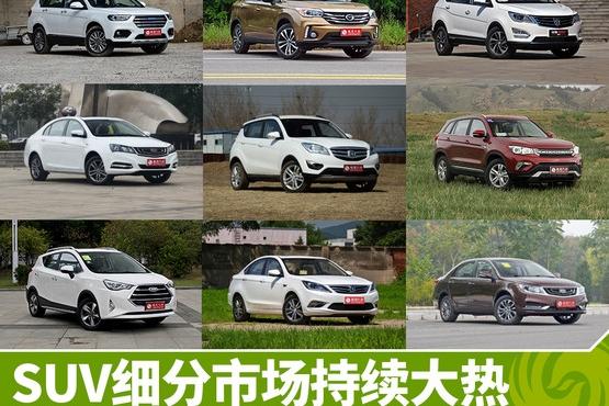 自主品牌车销量TOP10