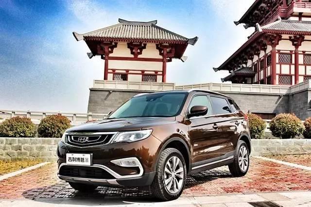 吉利蝉联中国品牌月销冠军,SUV占比过半或致利润大涨