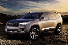 竞争对手锁定路虎揽胜! Jeep全新7座SUV专利图曝光