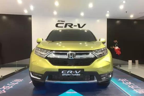 全球SUV销量之王,本田新款CR-V要上市了