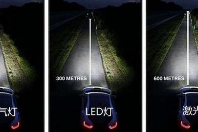 国内首款激光车灯