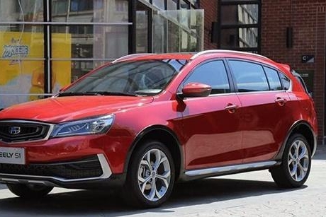 吉利的第二款跨界SUV亮相,10月份开始预订,势头赶超GS