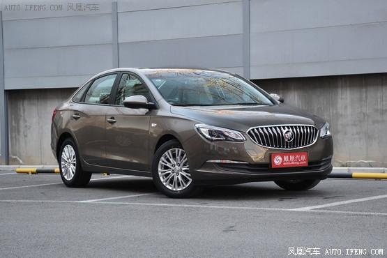 别克英朗全系优惠2.8万元 广州现车在售