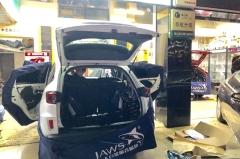 佛山亨城汽车音响改装携手古贝斯隔音 给您一个舒适安静驾驶环境