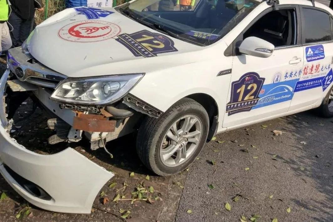 """在这场碰撞中,我们发现中国无人驾驶汽车技术实力令人""""担忧"""""""