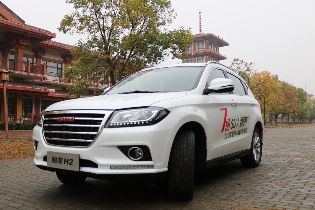 哈弗H2跃升第六 荣威传祺下滑 11月SUV销量TOP10盘点