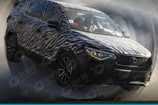 森雅7座SUV谍照曝光,或将于2019年亮相