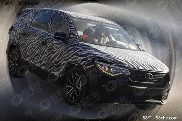 森雅7座SUV疑似谍照曝光 将于2019年亮相