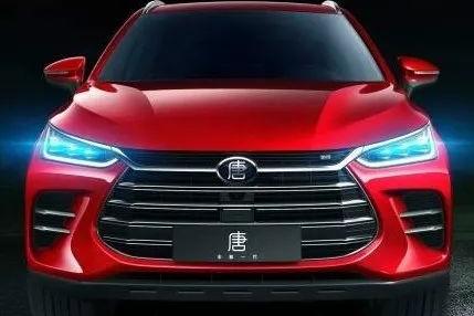 比亚迪唐全新插电混动SUV,4.5S加速百公里!