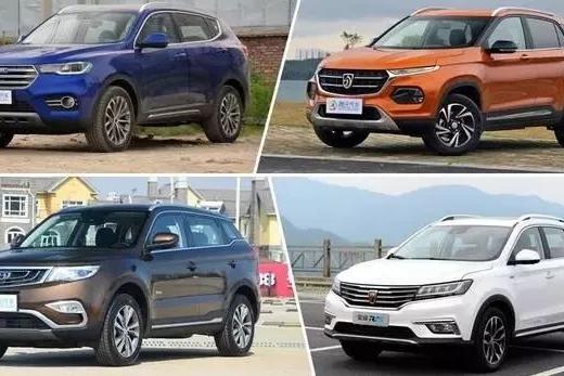 年终总结:这四台SUV今年合计销量已超100万