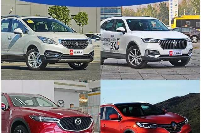 这几台SUV有个功能新手最爱,剐蹭概率降低90%!