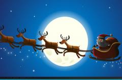 圣诞老人还在用麻袋装礼物?宽大的后备箱更适合!