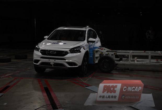 瑞虎7以56.6分获C-NCAP五星安全评价