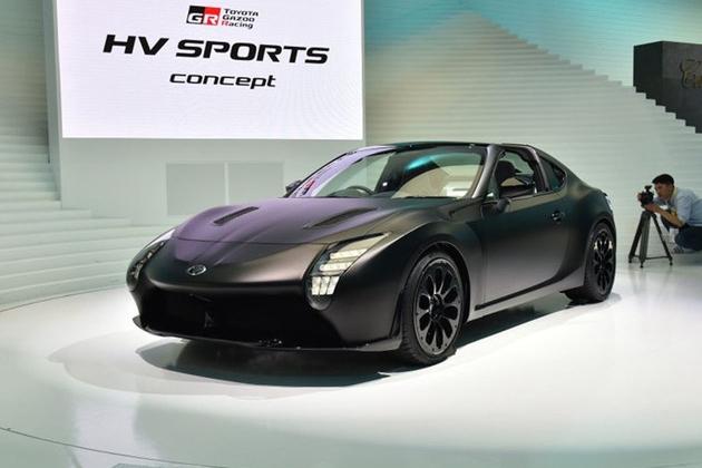 丰田推全新混合动力跑车 造型十分激进
