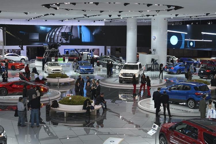 2018美国底特律车展 十款新车美翻了 大切诺基改款全球首发