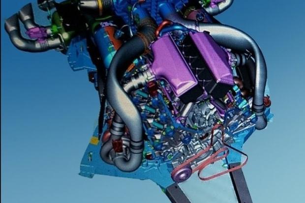 美国国宝级跑车将换代,通用LT7发动机曝光