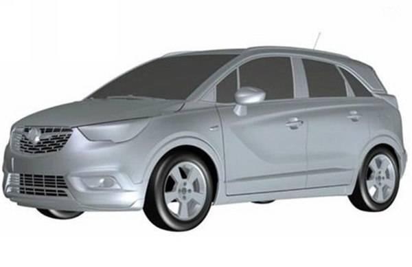 别克全新SUV申报图曝光 或搭载1.3T发动机