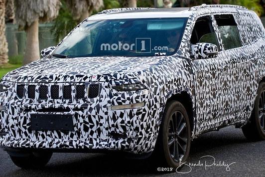 Jeep全新瓦格尼测试谍照 于2020年量产